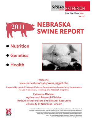 2011  Nebraska Swine Report