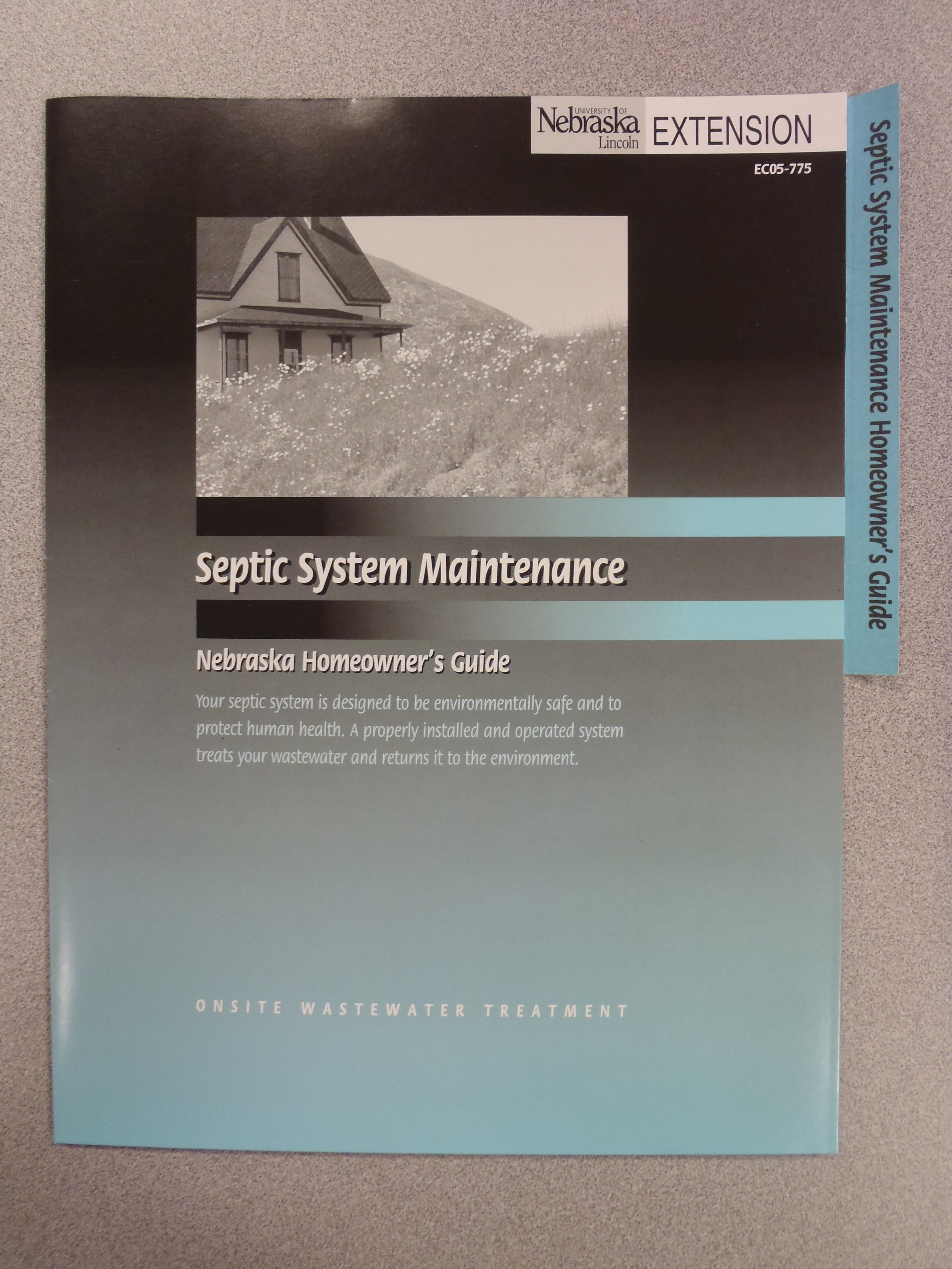 Septic System Maintenance Folder
