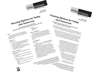 Housing Options for Today and Tomorrow
