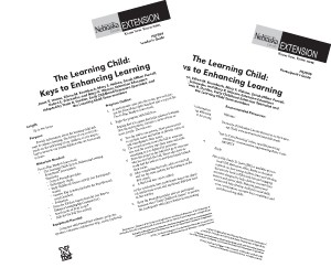 The Learning Child: Keys to Enhancing Learning