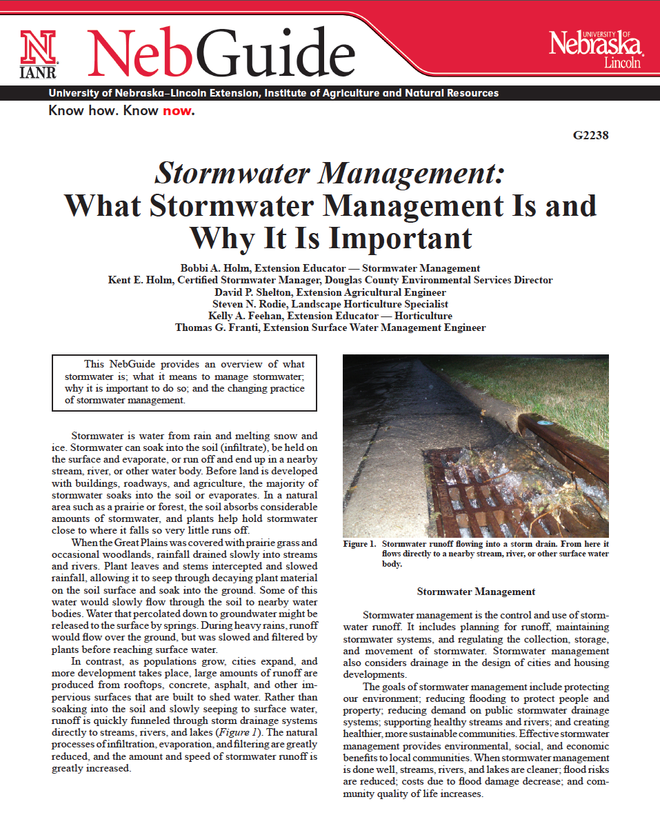 Stormwater Management: What Stormwater Management Is and Why It Is Important