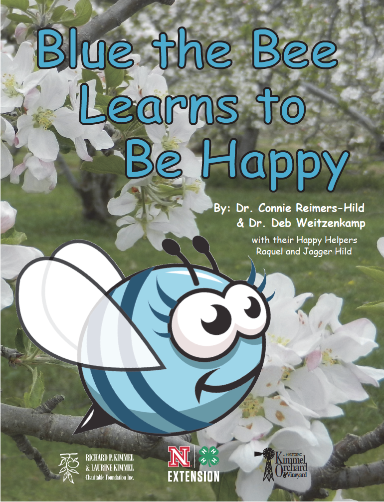 Blue the Bee Learns to be Happy