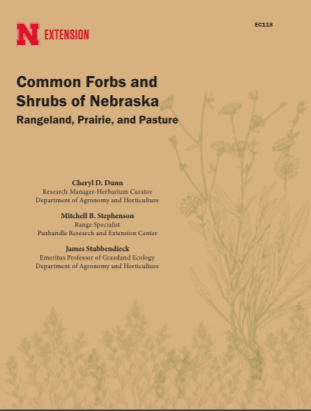 Common Forbs and Shrubs of Nebraska