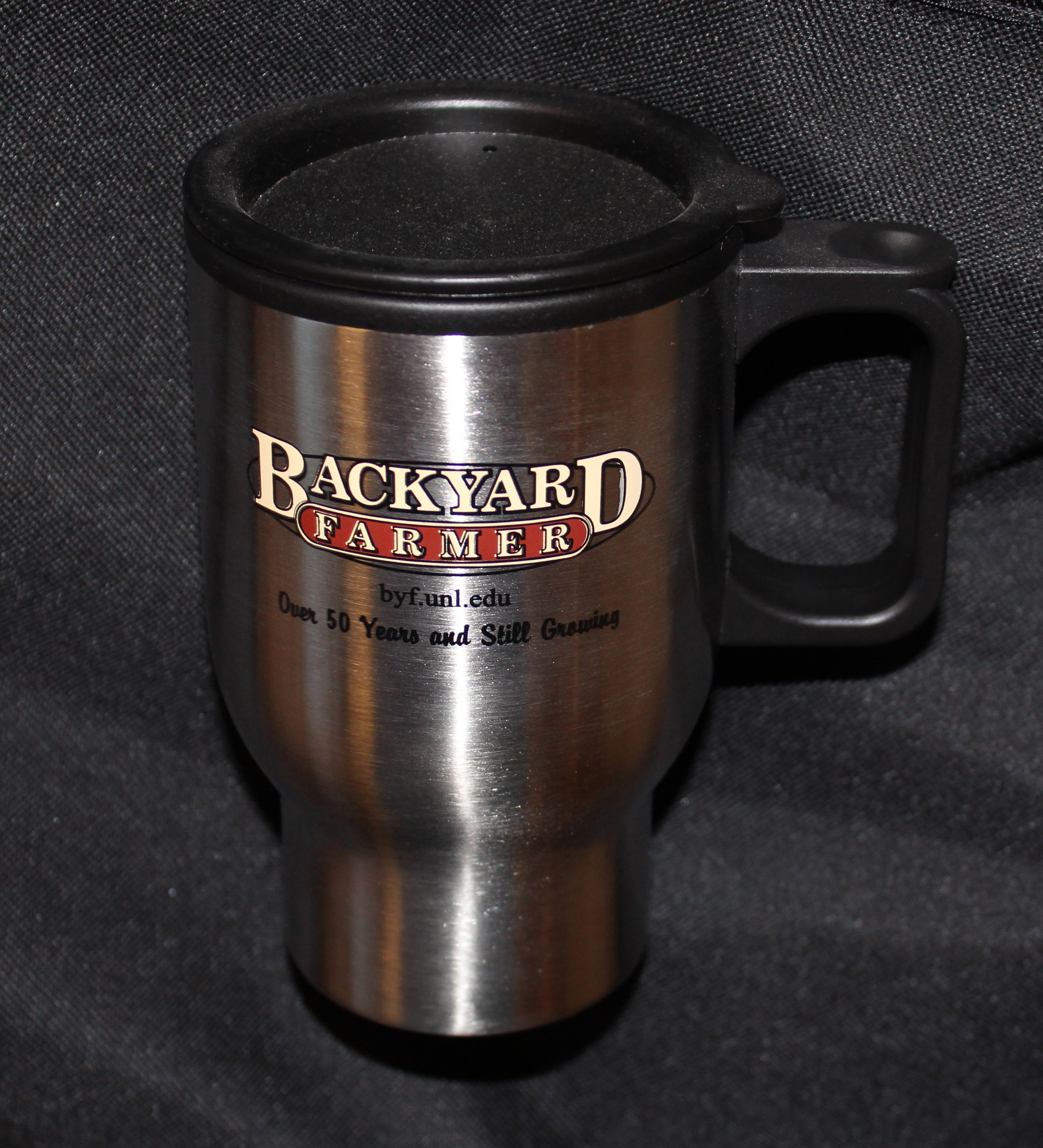 Backyard Farmer Travel Mug
