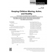 Keeping Children Moving, Active, and Healthy Leader Guide
