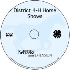 District Horse Show Process in Nebraska  [DVD]
