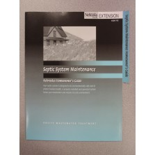 Septic System Maintenance Folder