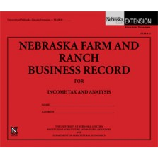 Nebraska Farm and Ranch Business Record for Income Tax and Analysis