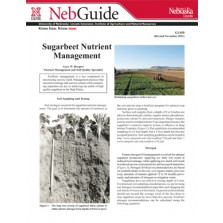 Sugarbeet Nutrient Management