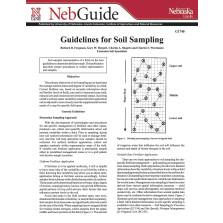 Guidelines for Soil Sampling