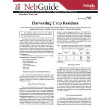 Harvesting Crop Residues