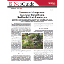 Stormwater Management: Rainwater Harvesting in Residential –Scale Landscapes