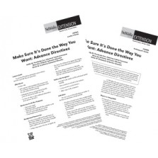 Make Sure It's the Way You Want: Advance Directives