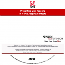 Presenting Oral Reasons for Horse Judging Contests [DVD]