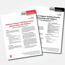 Making it Happen!: Building Positive Relationships With Children