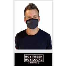 Buy Fresh Buy Local Allmask Face Mask