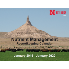 2019 Nutrient Management Calendar
