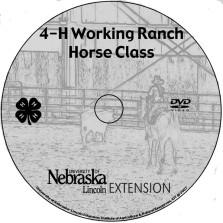 4-H Working Ranch Horse Class  [DVD]