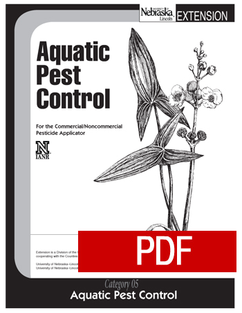 Aquatic Pest Control Pesticide Education Unl Marketplace