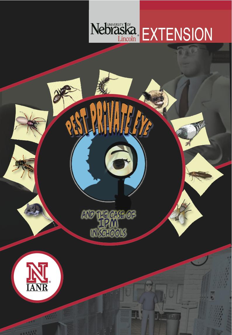 Pest Private Eye Game - CD14
