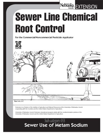 Sewer Line Chemical Root Control