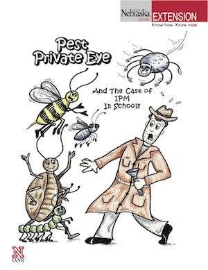 Pest Private Eye and the Case of IPM in Schools Comic Book