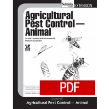 Agricultural Pest Control-Animal (02) PDF Downloadable