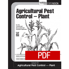 Agricultural Pest Control-Plant (01) PDF Downloadable