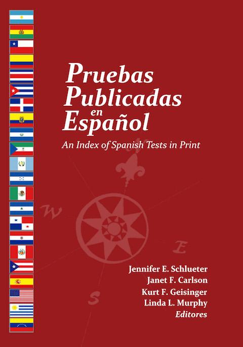 Book cover for 'Pruebas Publicadas en Español'