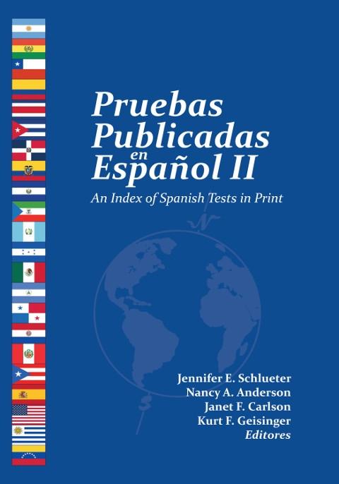 Book cover for 'Pruebas Publicadas en Español II'