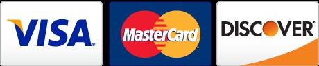 Visa, MasterCard, Discover (graphics)